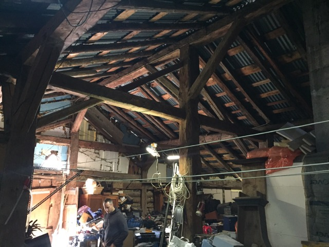 We need a surveyor in Morzine to have a look at this Timber roof structure.