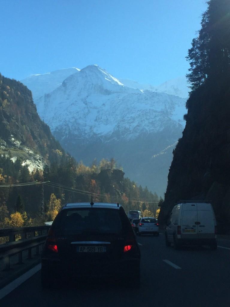 Morzine recce - Day 3 - The road to Chamonix