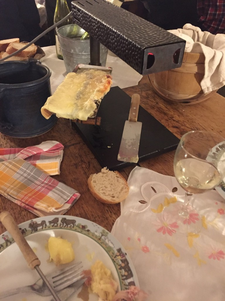 Finished Raclette - Les Frutiere Des Perrieres, Les Gets