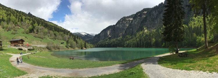 Le Verdant, Lac Montriond