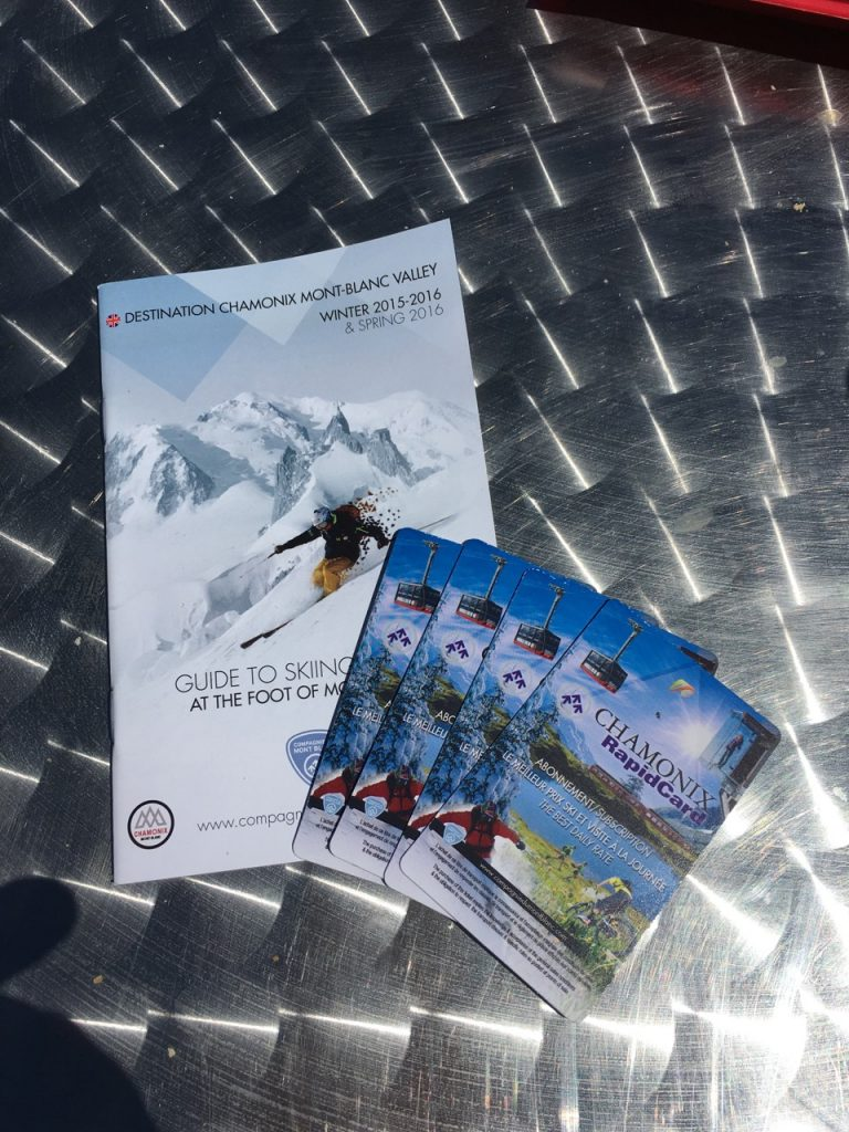 Aiguille du Midi lift tickets
