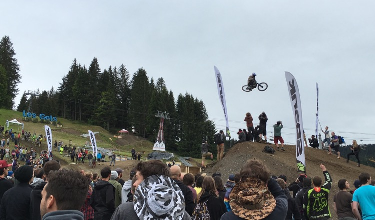 Crankworx 2016 is underway! Two days in and the weather is being a pig!