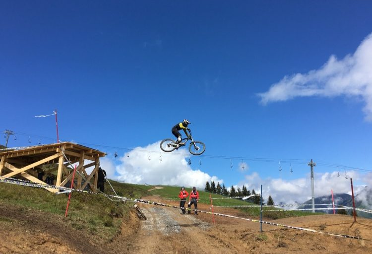 Despite the weather, Crankworx 2016, Les Gets was awesome!