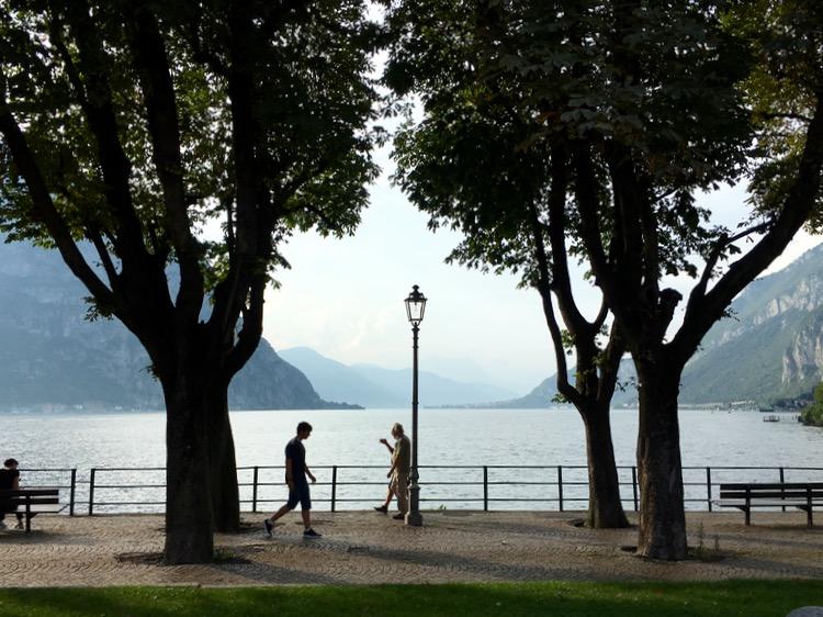 Lake Como from Lecco.