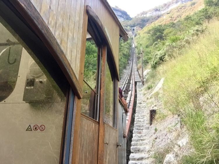 Saint Hilaire De Touvet Funicular.