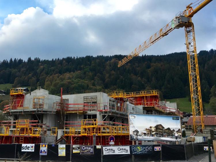 Big chalet project next to Les Copeaux, Les Gets.