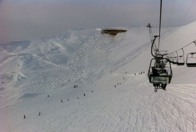 How to survive an Avalanche - Avalanche in Leysin 2012.