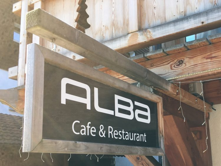 Cafe Alba - Excellent Scottish and English breakfast in Les Gets.