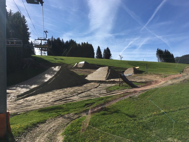 Crankworx Les Gets 2017 Slopestyle course looking huge!