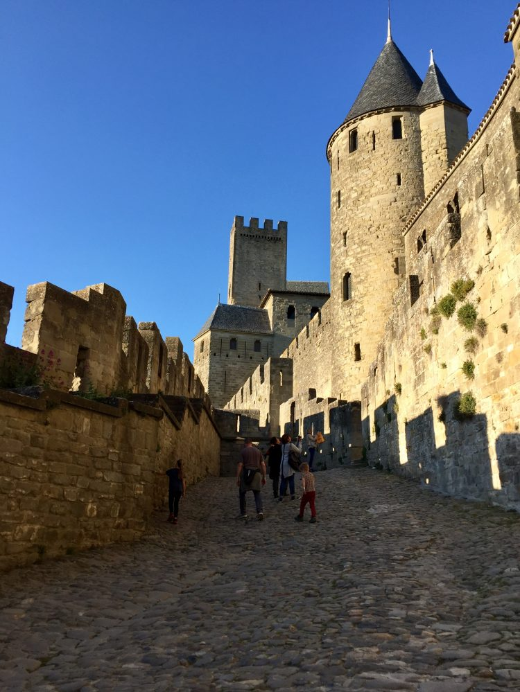 Carcassonne city walls.