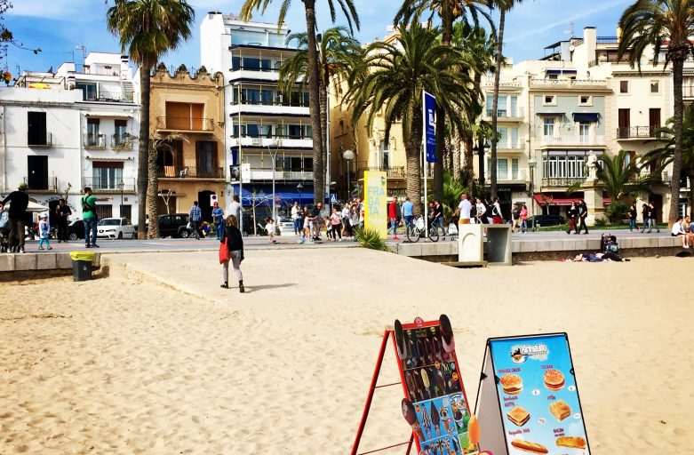 Sitges and Barcelona