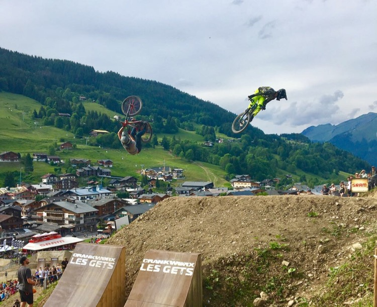Crankworx Les Gets 2017, Dual Speed and Style.