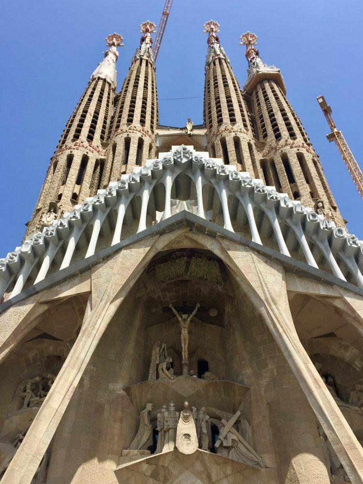 Such beautiful detail on Barcelona's Sagrada Família