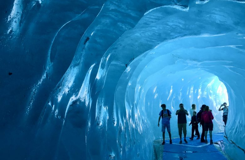 Inside the Montenvers glacier, Chamonix Summer 2017. www.up-stix.com