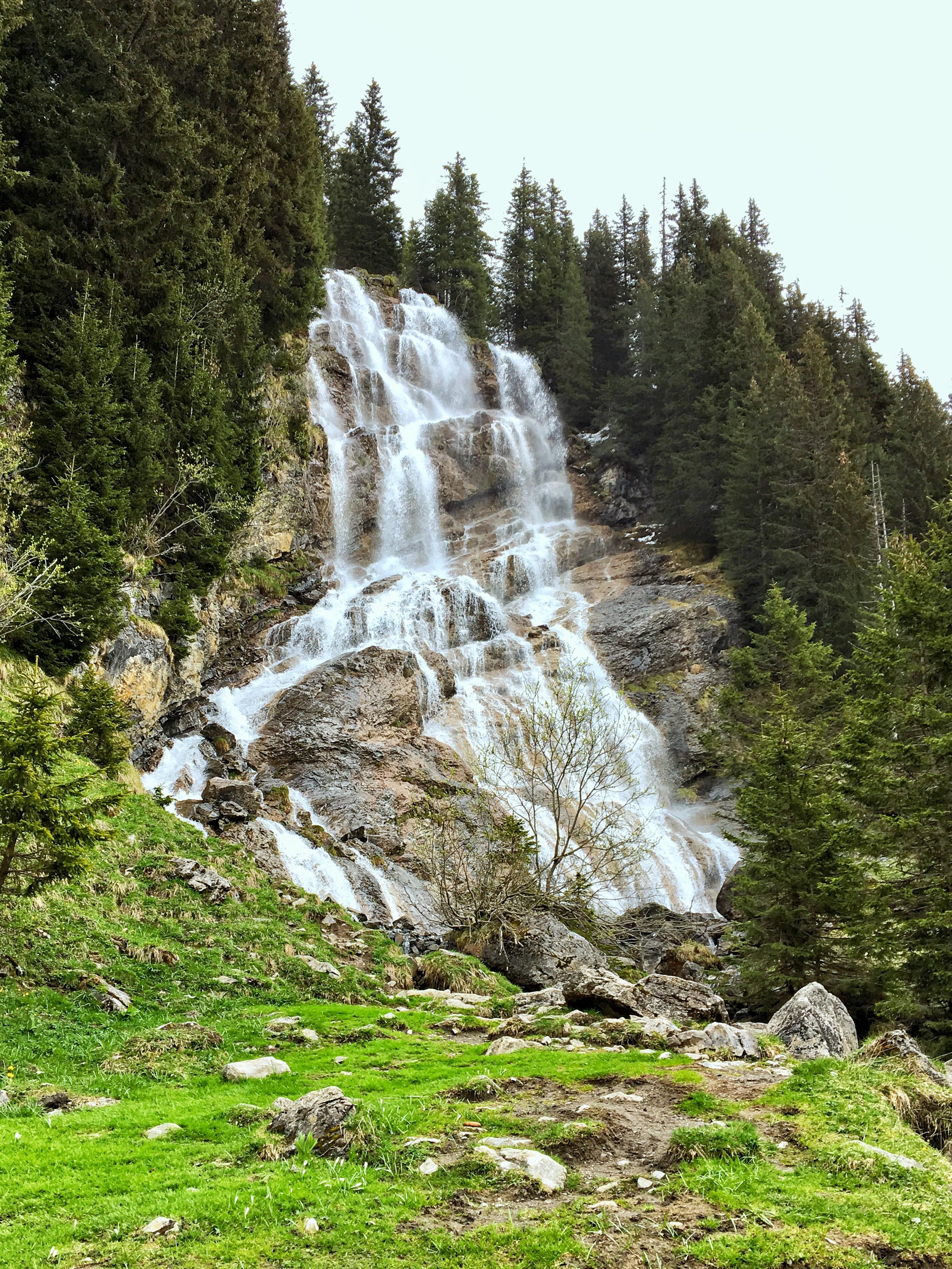 Cascades des Brochaux - Waterfalls in and around the Portes du Soleil