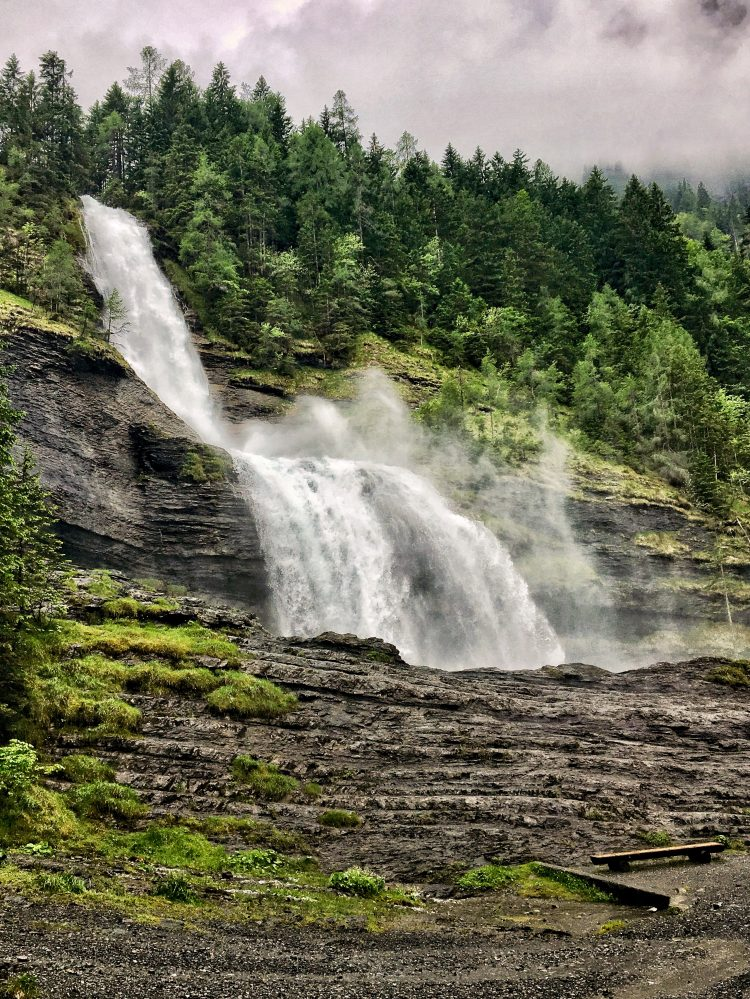 Cascades du Rouget Waterfall