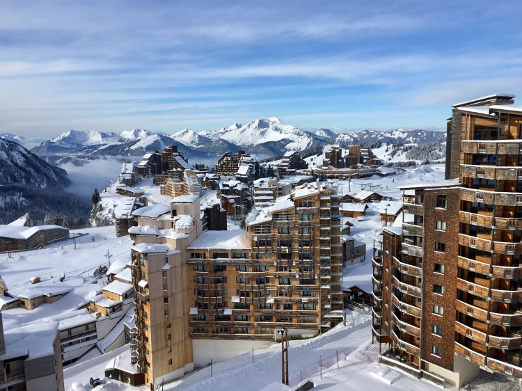 Early opening in Avoriaz, December 2017.