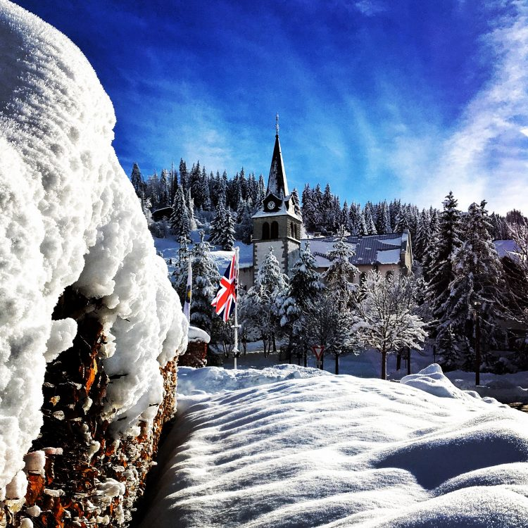 Les Gets Snow Update December 2017. There's loads!