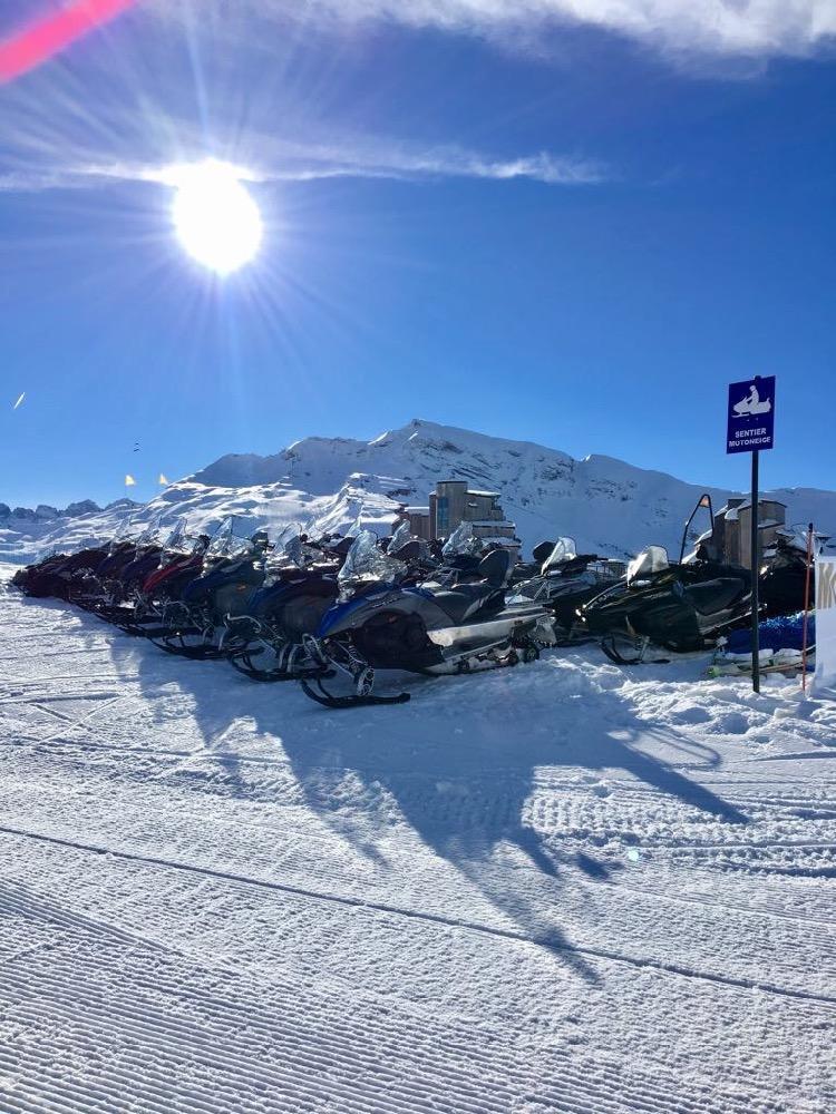 Snowmobiling in Avoriaz
