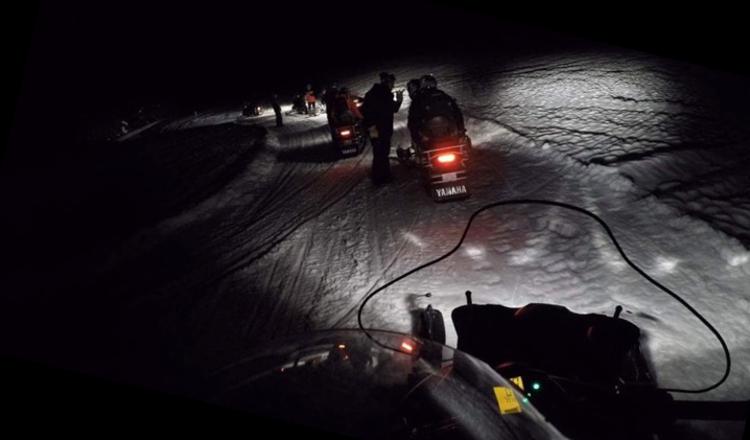 Avoscoot snowmobiling Morzine Avoriaz