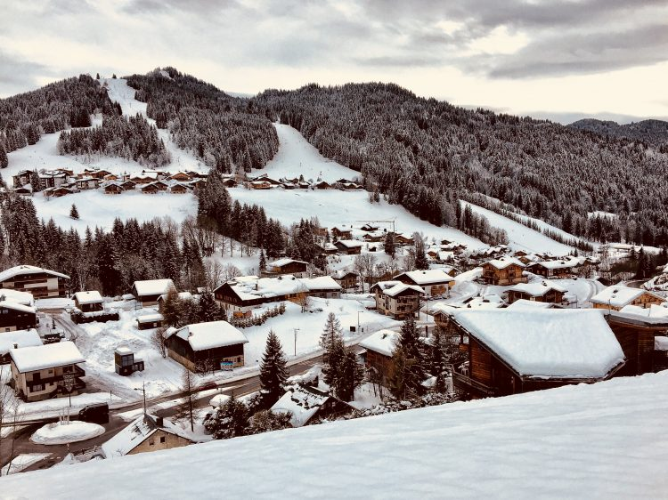 Mountain Life - Les Gets - December 2017.