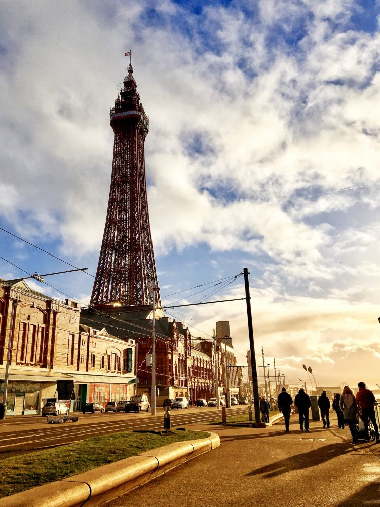 """Look! It's La Tour Eiffel!"" (or is it???) Blackpool Tower on Boxing Day 2018."