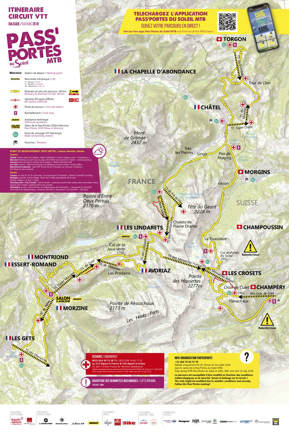PassPortes du Soleil 2018 route map. Image source: http://en.passportesdusoleil.com