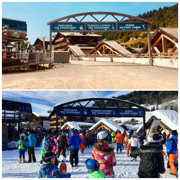 Chavannes lift queues summer winter Up-Stix