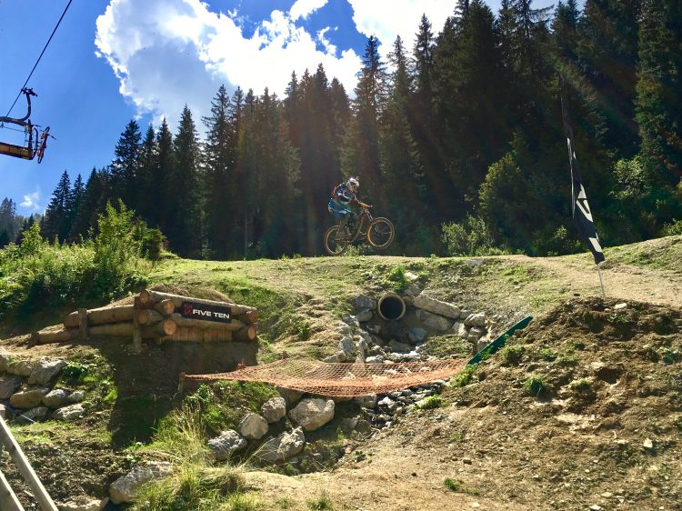My mate sending the Chatel River Gap. I got the pick this time!