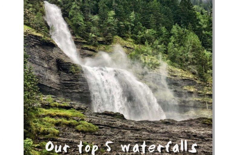 Our Top 5 waterfalls around the Portes du Soleil. Up-Stix