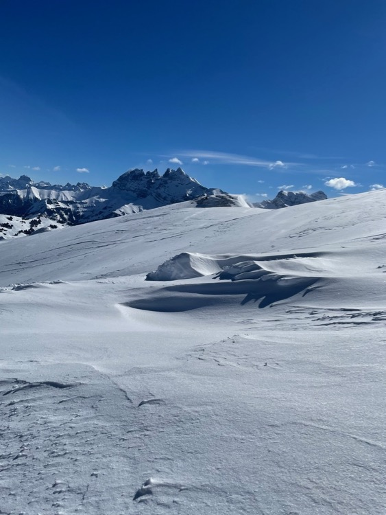 Dents Du Midi from Arare, Avoriaz (standard!).