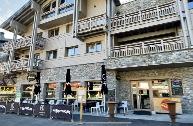 New Developments in Les Gets Vieux Chene and the Boomerang restaurant